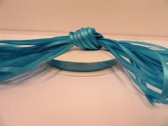 Sky Blue Satin ribbon Double sided, 3mm 7mm 10mm 15mm 25mm 38mm 50mm Roll Bow
